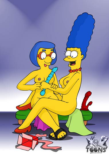 Bart and milhouse porn