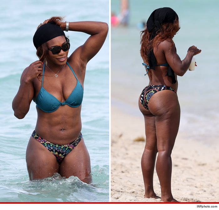 Serena williams ass thong