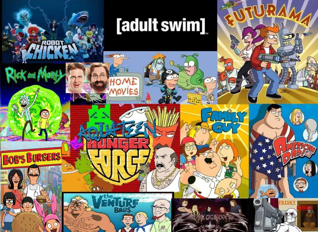 Adult swim cartoon network