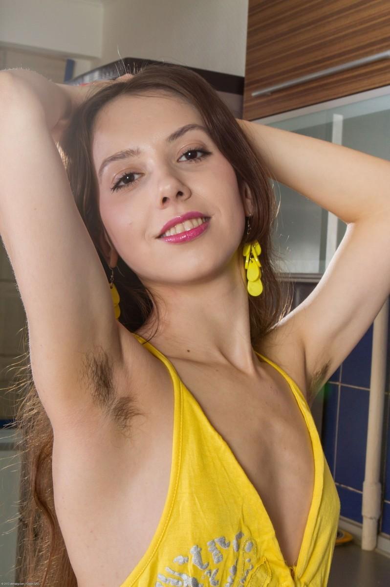 Naked skinny girls hairy pussy