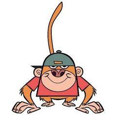 My gym partner monkey