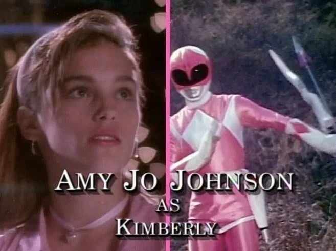 Amy jo johnson power rangers
