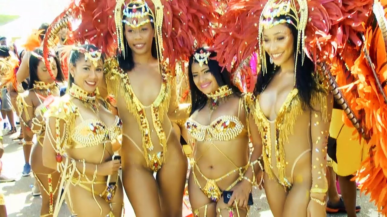 Trinidad and tobago carnival girls