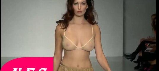 Fashion show model nude