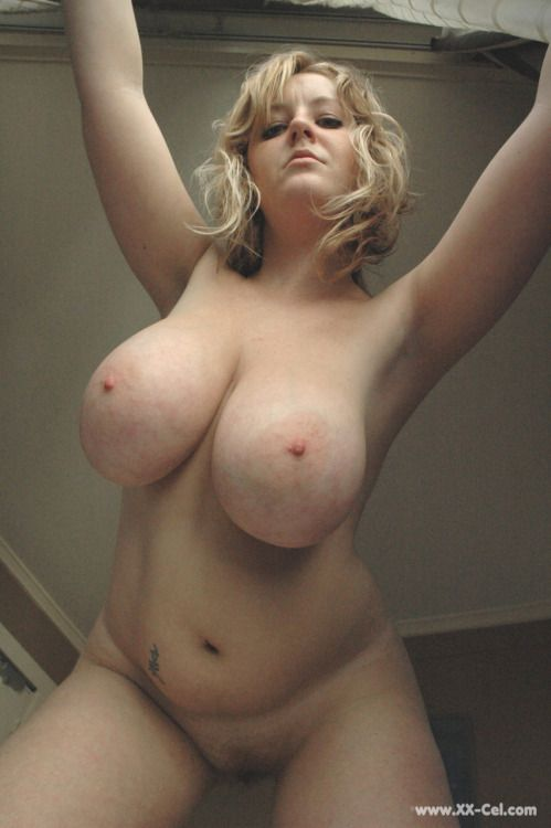 Big tit chubby blonde amateur