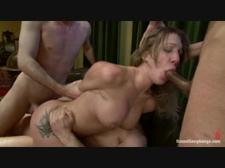 Bound gangbangs amy brooke