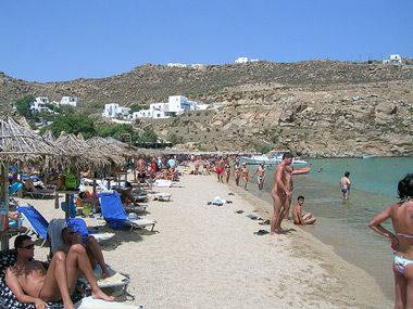 Mykonos nude beaches sex