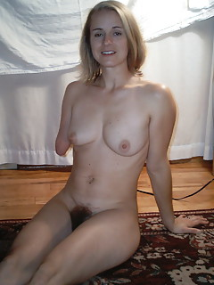 One legged girl naked