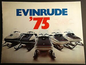 Vintage evinrude snowmobiles for sale