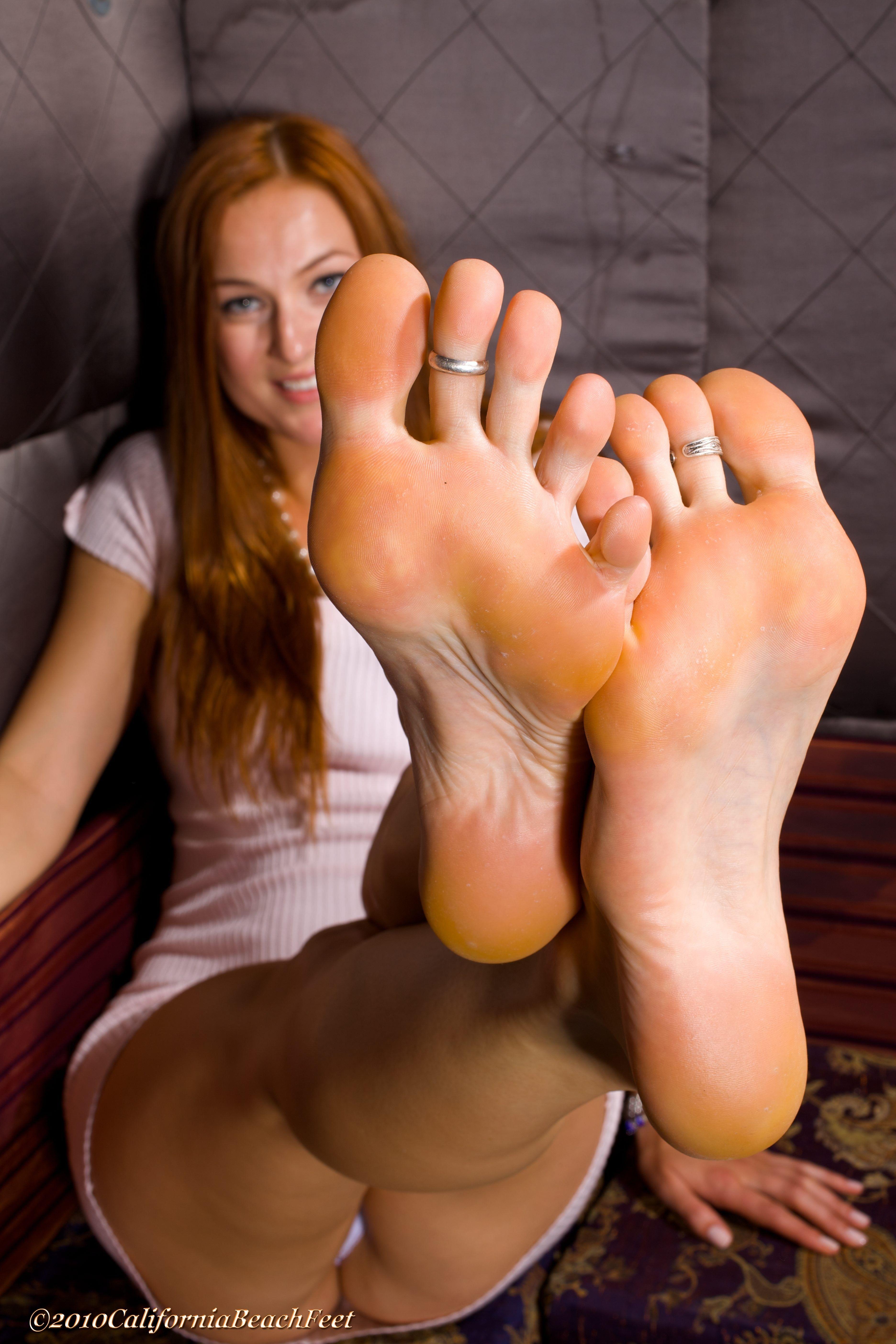 Women legs feet soles