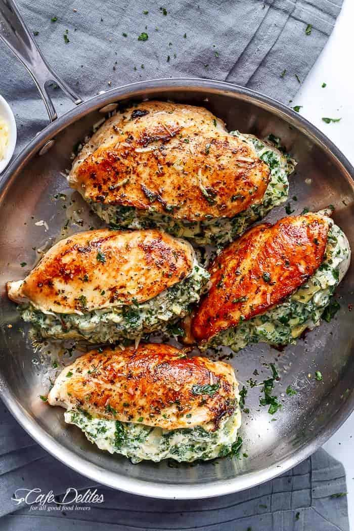 Stuff chicken breast recipes