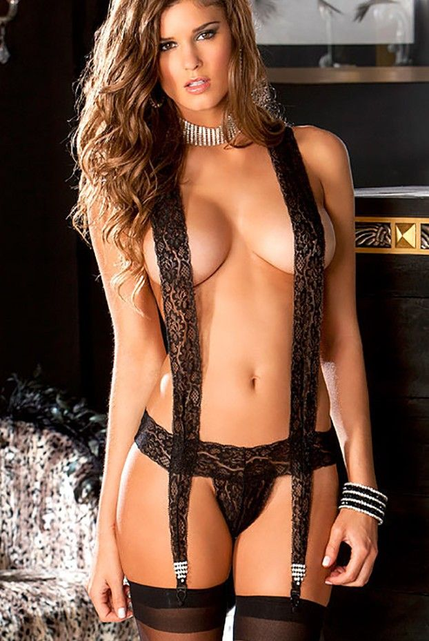 Smoking hot lingerie models