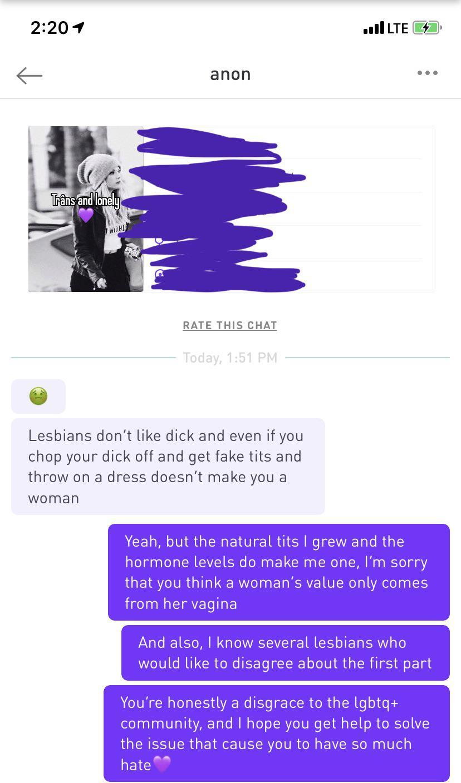Lesbian love lesbian chat
