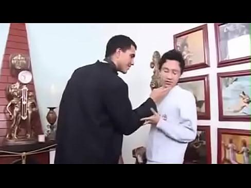 Boy altar priest fucks