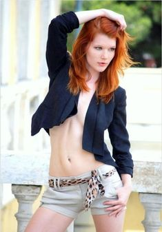 Over fifty busty redheads