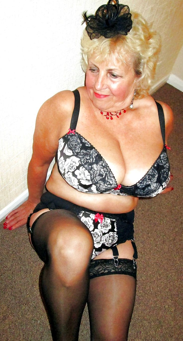 Granny sexy boobs tits breasts