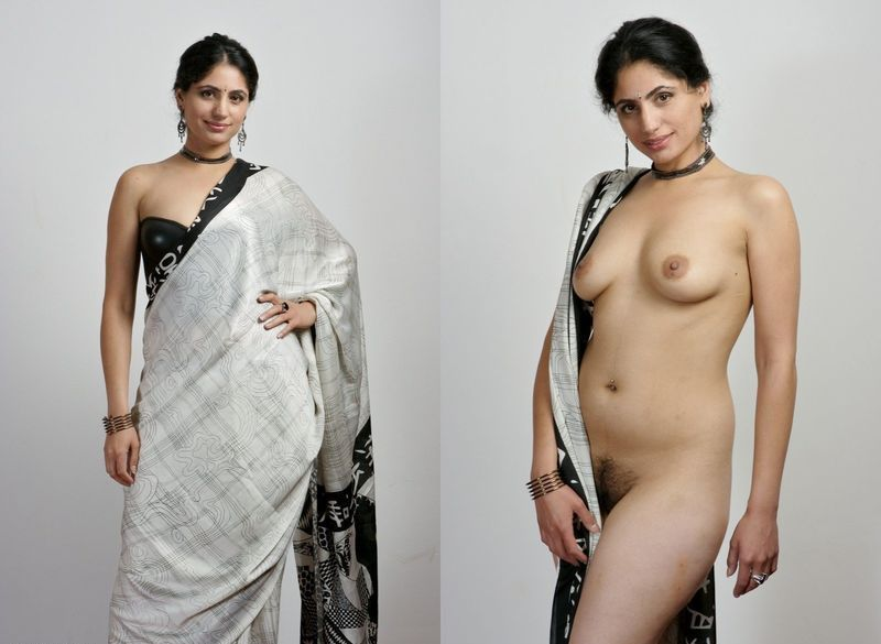 Indian before and after nude