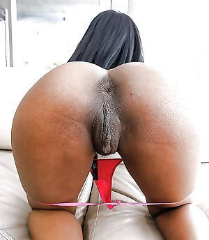 Big black pussy asses