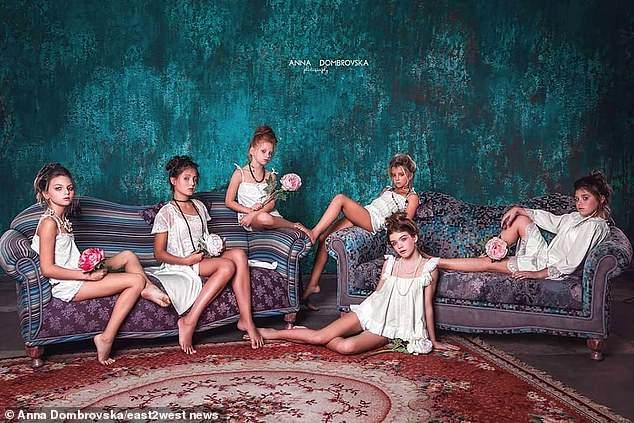 Ukraine nudist girls family