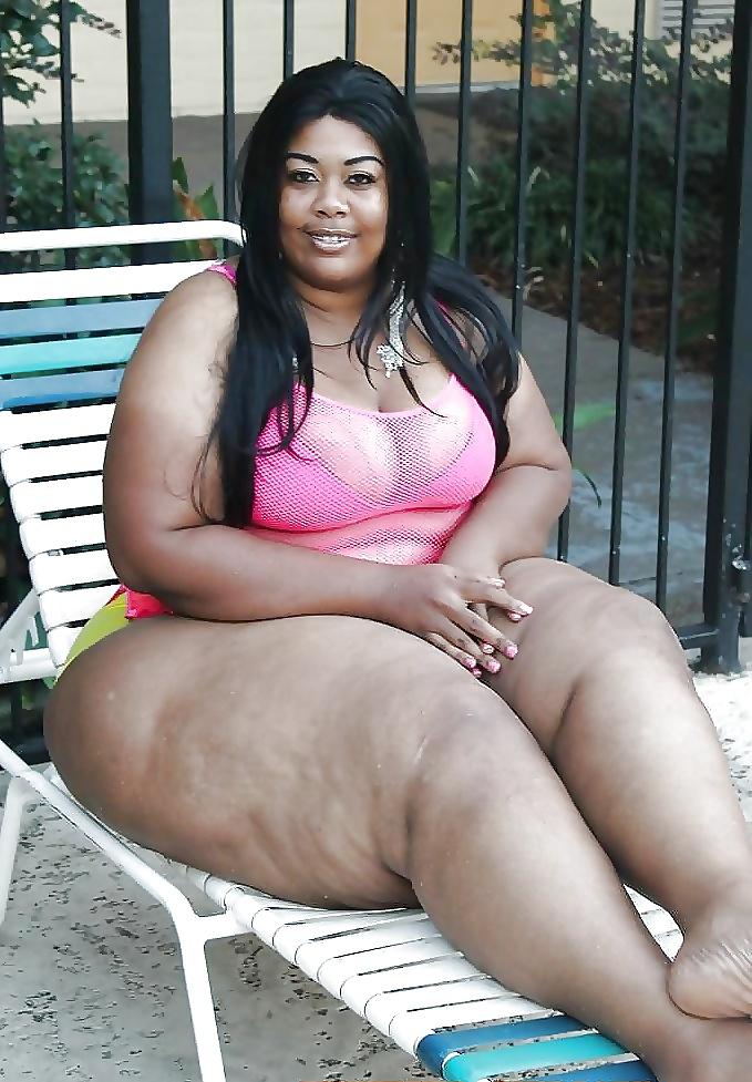 Fat black women big pussy