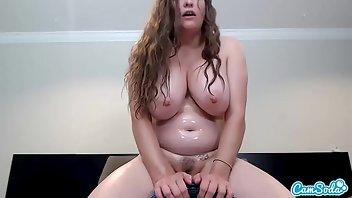 Huge dildo sybian orgasm