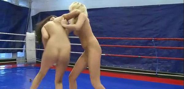 Boys vs girls fight nude