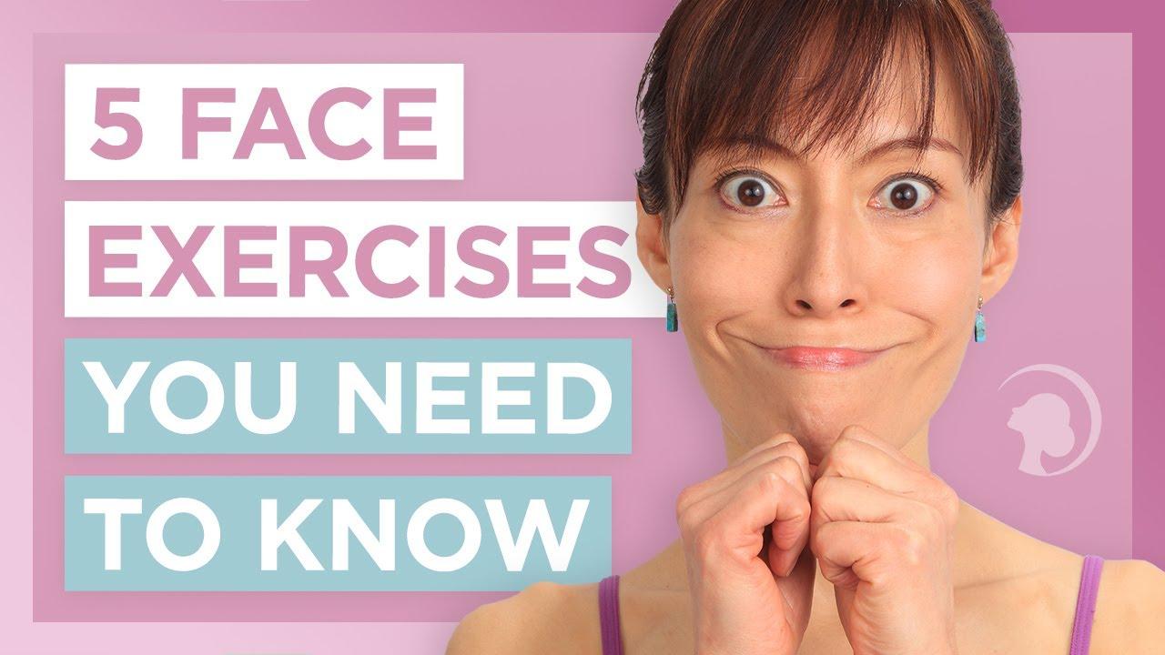Facial exercise clinical study
