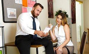 Sexy secretary natasha marley