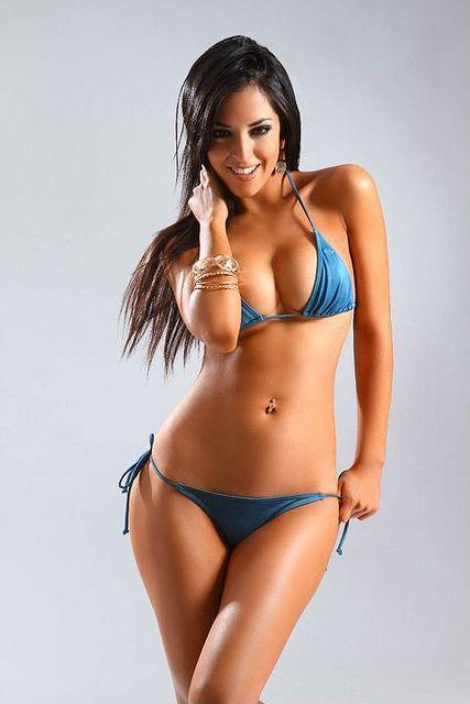 Sexy latina bikini models