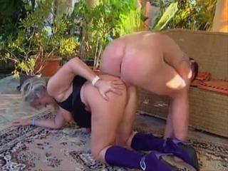 Mature granny forced anal sex