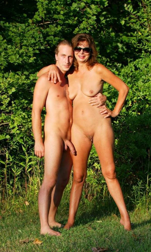 Big moms and boy nude