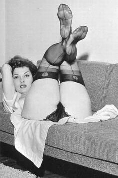 Vintage retro nude women stockings