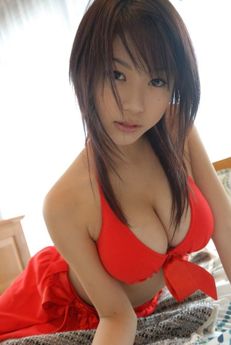 Beautiful asian girl solo