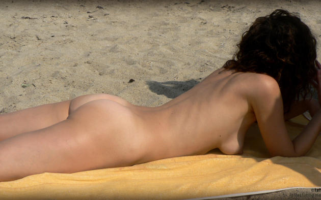 Ass beach wife nude