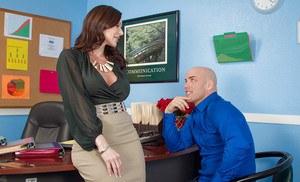 Trish jade porn redhead