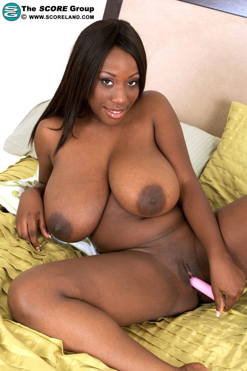 Big black girl naked