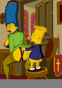 Los simpsons marge xxx bart