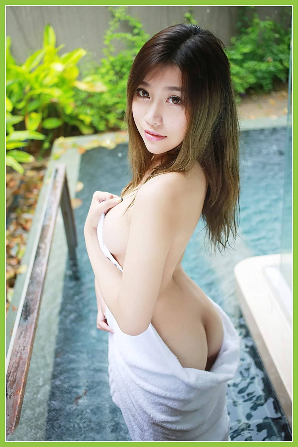 Asian beautiful girl perfect body nude image