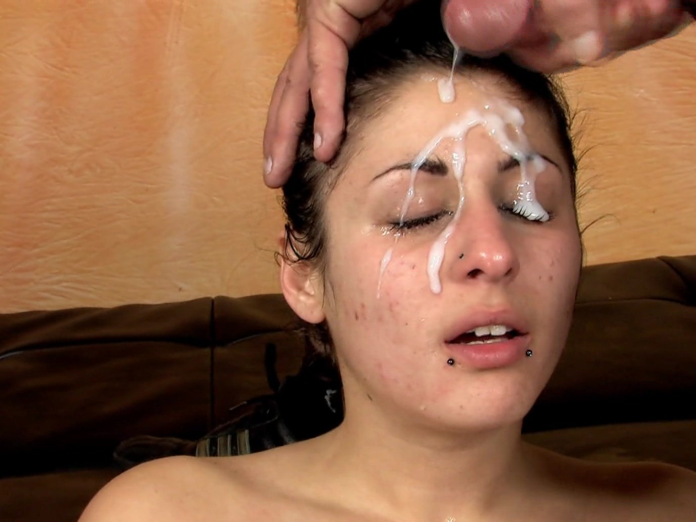 Celebrity cum facials mature