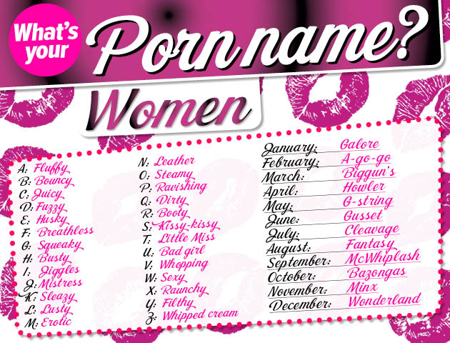Is name what your porno