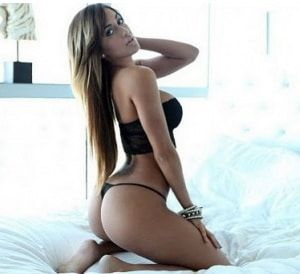 Sexy black girl bondage