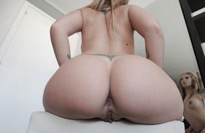 Naked ass man selfie