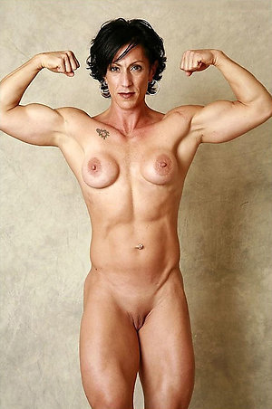 Nude women mature muscle