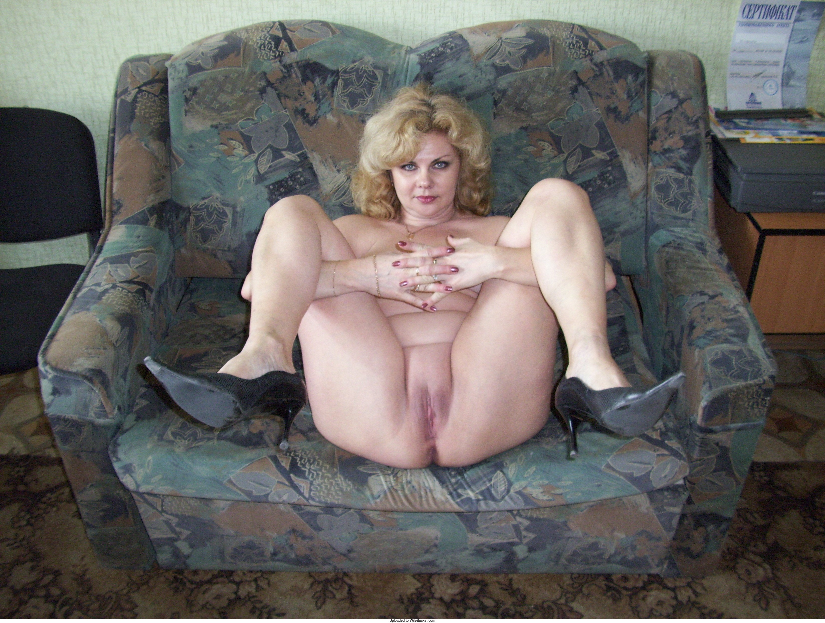 Naked russian amateur milf