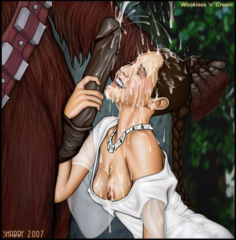 Star wars princess padme hentai