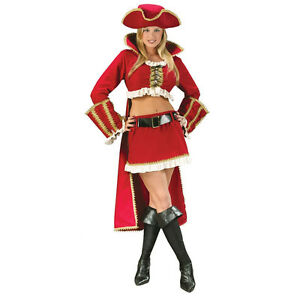Captain black heart sexy costume