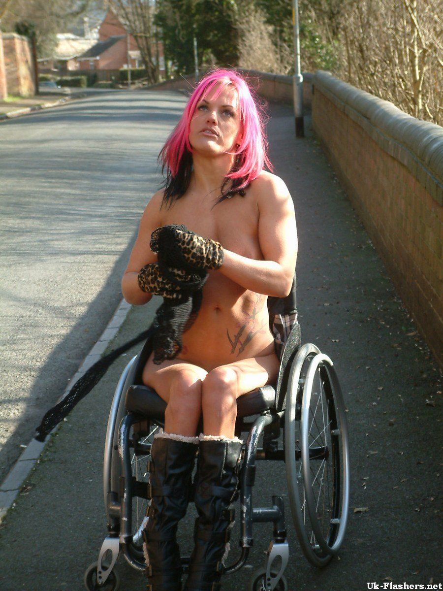 Fetish porn sex wheelchair