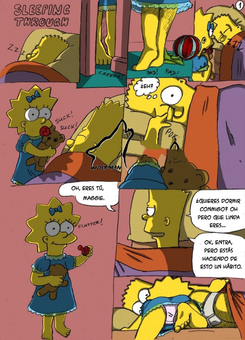Los simpson comic porno