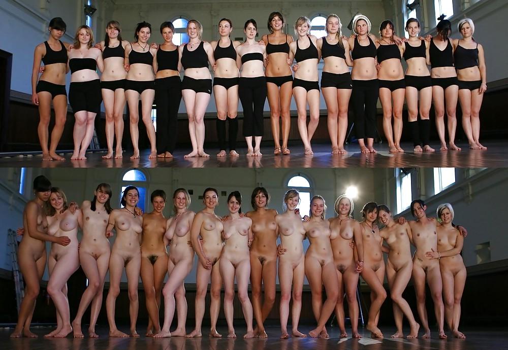 Nude yoga girls abby winter group