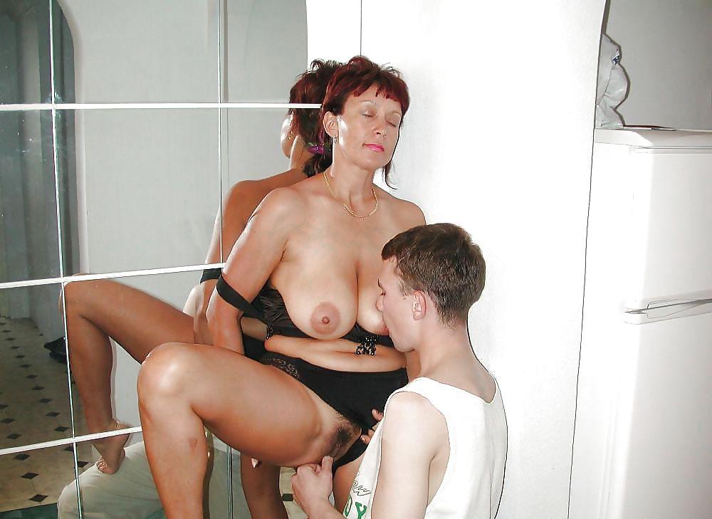 Russian milf son porn